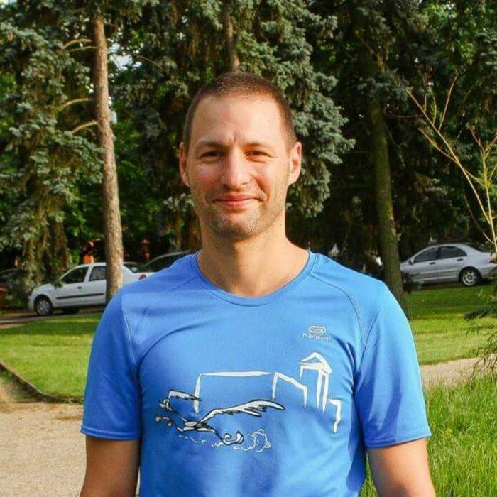 Csíkos Dániel (BSI Futónagykövet, Gyula) :